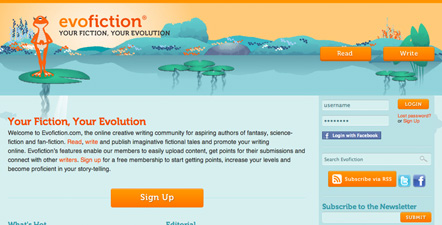 Evofiction Web Design and Development